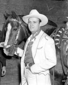 Gene Autry Pro Rodeo Hall Of Fame
