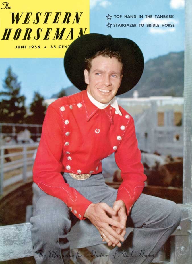 Casey Tibbs June 1956 Pro Rodeo Hall Of Fame