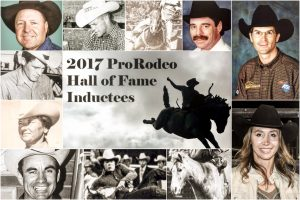 2017 inductees pro rodeo hall of fame