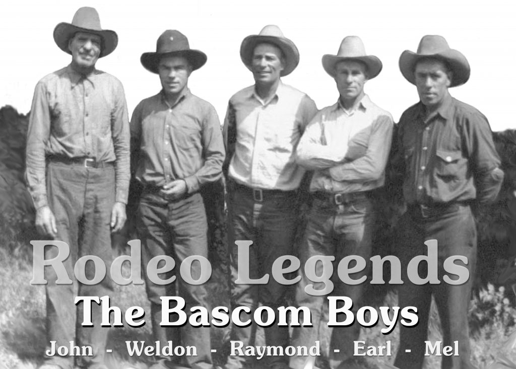 Bascom Boys Rodeo Legends 2 Pro Rodeo Hall Of Fame